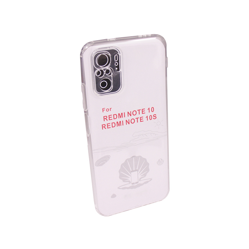Силиконовый чехол Ultra Thin TPU для Xiaomi Redmi Note 10 / 10S прозрачный