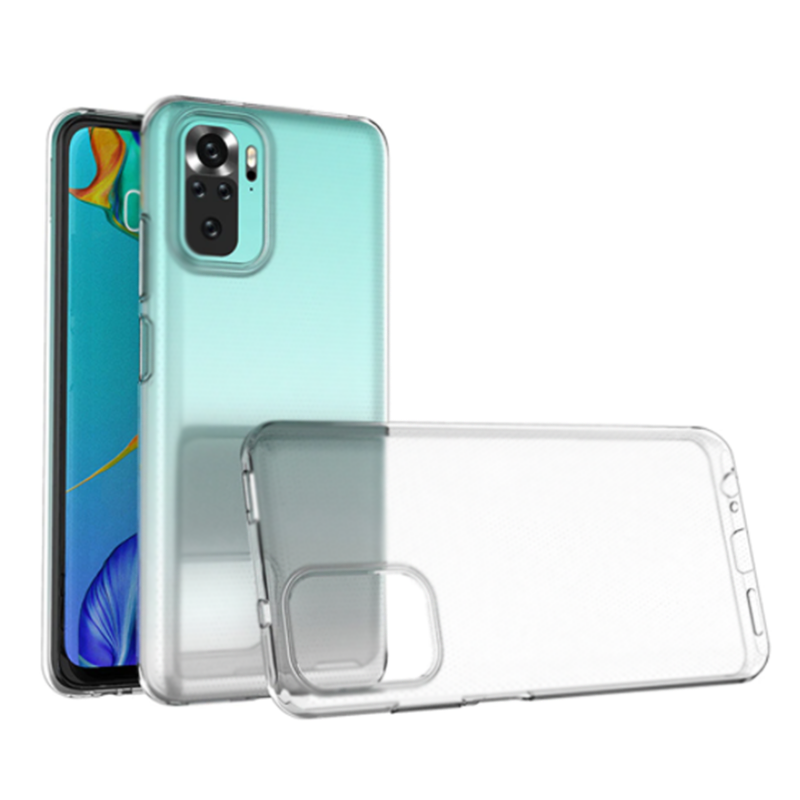 Силиконовый чехол KST UT для Xiaomi Redmi Note 10T / Note 10 5G прозрачный