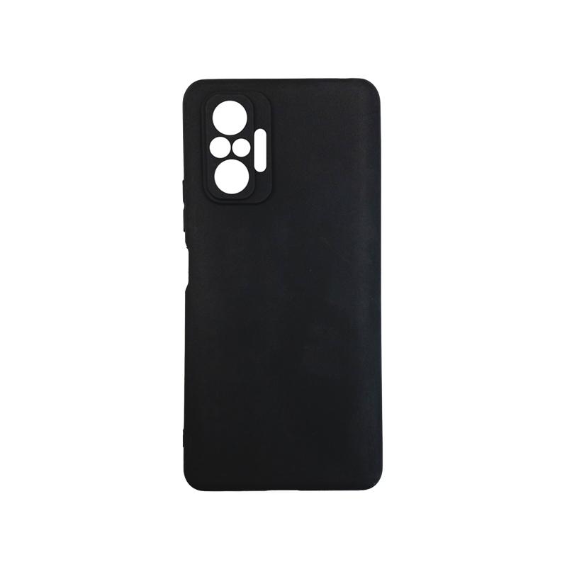 Силиконовый чехол KST MC для Xiaomi Redmi Note 10 Pro черный матовый