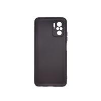 Силиконовый чехол матовый для Xiaomi Redmi Note 10 / 10S черный
