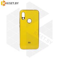 Силиконовый чехол Plating для Apple iPhone 7 / 8 Plus желтый