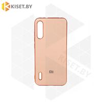Силиконовый чехол Plating для Apple iPhone 7 / 8 Plus розовое золото