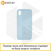Soft-touch бампер Silicone Cover для Xiaomi Redmi Note 4X сиреневый