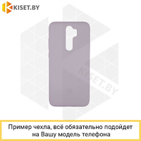 Soft-touch бампер Silicone Cover для Xiaomi Redmi Note 4X лавандовый