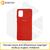 Soft-touch бампер Silicone Cover для Xiaomi Redmi 6A темно-красный с закрытым низом