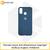 Soft-touch бампер Silicone Cover для Xiaomi Redmi 4X темно-синий