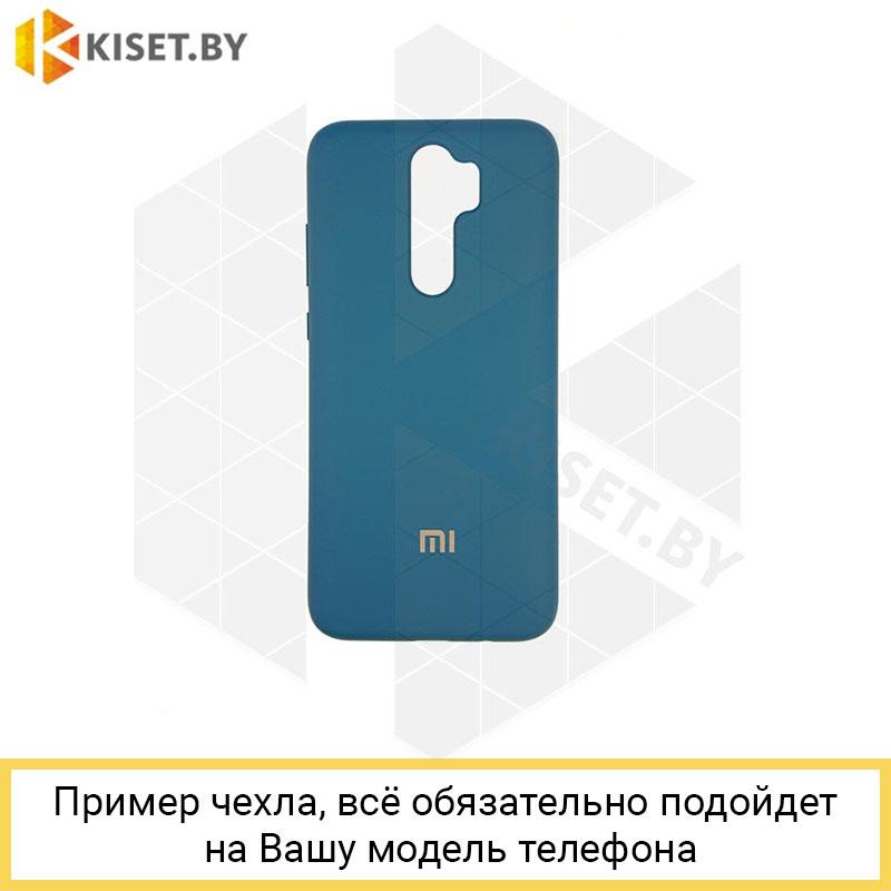 Soft-touch бампер Silicone Cover для Xiaomi Redmi Note 4X космический синий