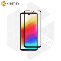 Защитное стекло полной проклейки Full glue для Xiaomi Redmi Note 9 / Redmi 10X 4G черное