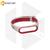 Силиконовый ремешок для Xiaomi Mi Band 3 / Mi Band 4 бело-красный Nike