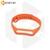 Силиконовый ремешок для Xiaomi Mi Band 3 / 4 оранжевый