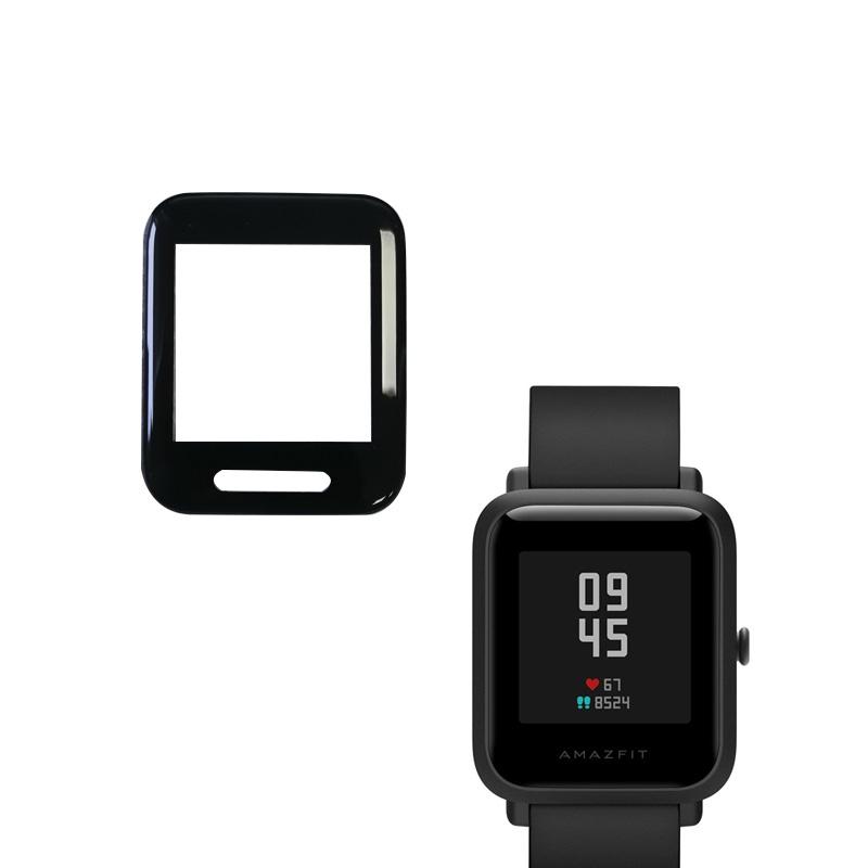 Защитная ультрамембрана TPU full glue для Xiaomi Amazfit Bip черный