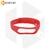 Силиконовый ремешок для Xiaomi Mi Band 3 / 4 красный