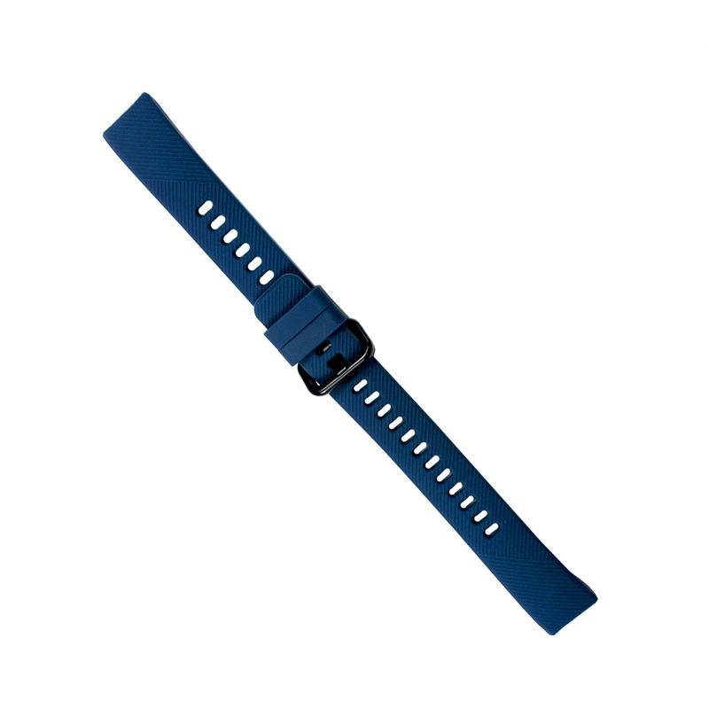 Силиконовый ремешок для HONOR Band 4 темно-синий