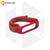 Нейлоновый ремешок для Xiaomi Mi Band 3 / 4 / 5 красный