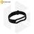 Силиконовый ремешок для Xiaomi Mi Band 5 / 6 черный