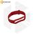 Силиконовый ремешок для Xiaomi Mi Band 5 / 6 красный