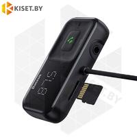 Автомобильное зарядное устройство / FM модулятор Baseus S-16 CCTM-E01 2.1A черный