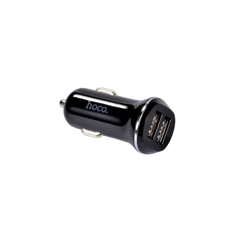 Автомобильное зарядное устройство HOCO Z1 2.1A + кабель Micro-USB черный